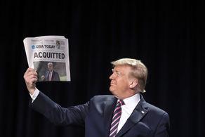 ادعای جدید ترامپ پس از تبرئه در سنا