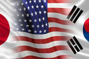 توافق جدید ژاپن، آمریکا و کره جنوبی/ کره شمالی هدف اصلی است!