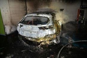 آتش سوزی خودروهای برقی هیوندا دردسر ساز شد