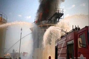 جزئیات جدید آتش سوزی در پتروشیمی خارک