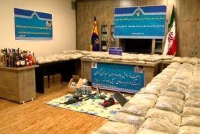 قاچاقچی مواد مخدر در غرب تهران دستگیر شد