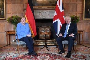 محدودیتهای مسافرتی هم نتوانست مانع دیدار رهبران انگلیس و آلمان شود!+جزییات