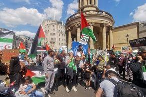 انگلیس تبدیل به صحنه اعتراضات شد!+جزییات
