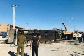 وقوع تصادف دلخراج اتوبوس و تریلی در یزد/ شمار کشتهها و مجروحان اعلام شد