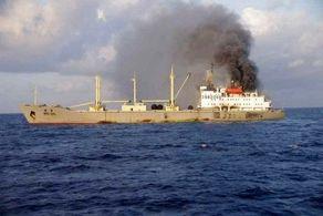 کشتی چینی منفجر شد+آمار کشته شده ها