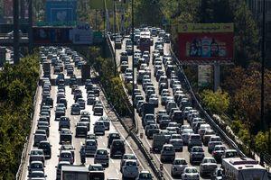 معابر بزرگراهی پایتخت زیر بار ترافیک سنگین