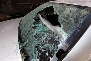 تخریب خودروهای یافت آباد در روز روشن