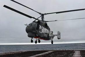 یک بالگرد نظامی با پنج سرنشین سقوط کرد+جزییات
