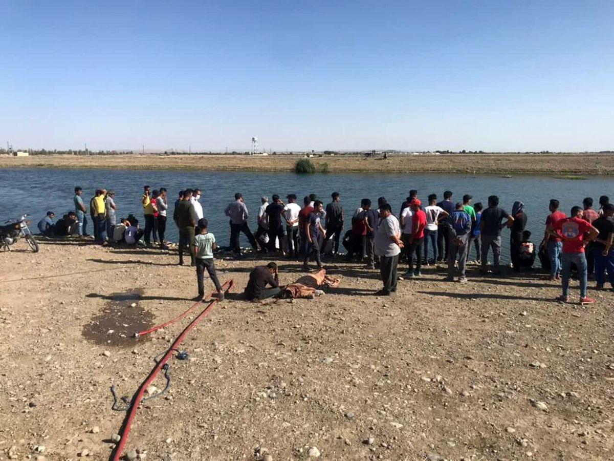 غرق شدن ۲ جوان در آبگیر جمال آباد پاکدشت
