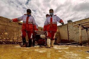 ادامه امدادرسانی در مناطق سیل زده کشور