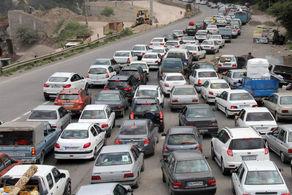 افزایش ترافیک جادهها در 24 ساعت اخیر