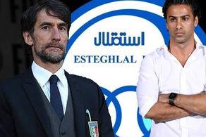 مربی ایتالیایی از فردا به اردوی استقلال اضافه میشود