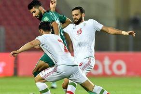 کری زشت و زننده بازیکن عراقی برای تیم ملی ایران