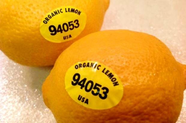 معنای اعداد روی میوهها چیست؟