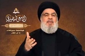 سید حسن نصرالله از تلاش برای واردات سوخت از ایران به لبنان گفت