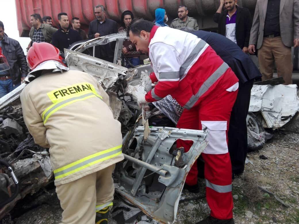 امدادرسانی به ۳۸۶ نفر در حوادث ۷۲ ساعت گذشته