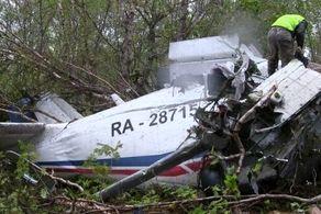 هواپیمای روسی با ۶ سرنشین سقوط کرد