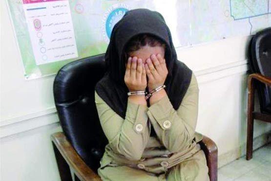 بازداشت زن مواد فروش با حدود 10 کیلو تریاک