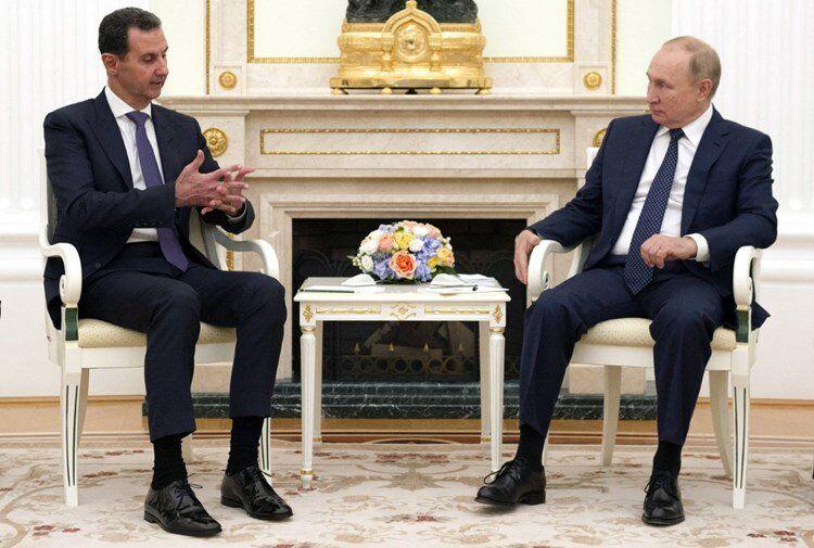 پوتین چه قولی به بشار اسد داد؟+ جزییات