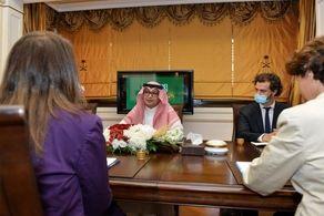 رایزنی سفیر عربستان در بیروت با همتایان فرانسوی و آمریکایی