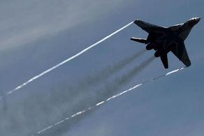 جنگنده روسی سقوط کرد!