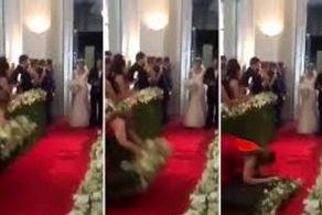 آبروریزی زن جوان وسط عروسی! + عکس جالب