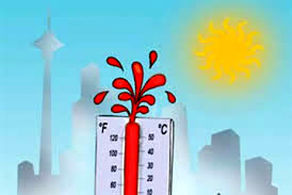 دمای هوای ۳۹ درجه در راه تهران