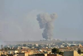 موشکباران سوریه توسط ارتش ترکیه+جزییات