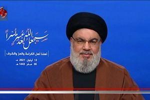 پیام سیدحسن نصرالله به مردم لبنان در آستانه ورود سوخت از ایران+جزییات