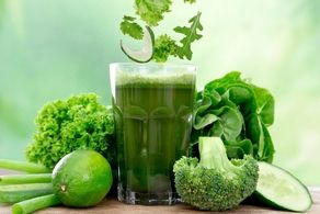 سم زدایی بدن نوشیدنیهای سبز