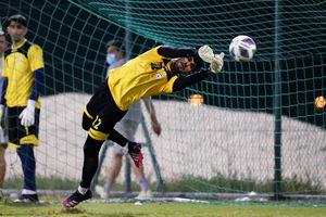 تمرین تیم ملی فوتبال ایران در ورزشگاه النجمه بحرین