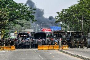 ۲ پایگاه هوایی در میانمار هدف حمله قرار گرفت