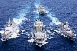 حضور یگانهای شناور ایران در رژه نیروی دریایی روسیه+جزییات