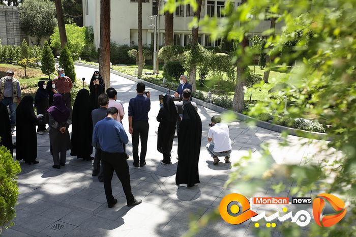 در حاشیه جلسه هیات دولت عکاس: سارا عبداللهی