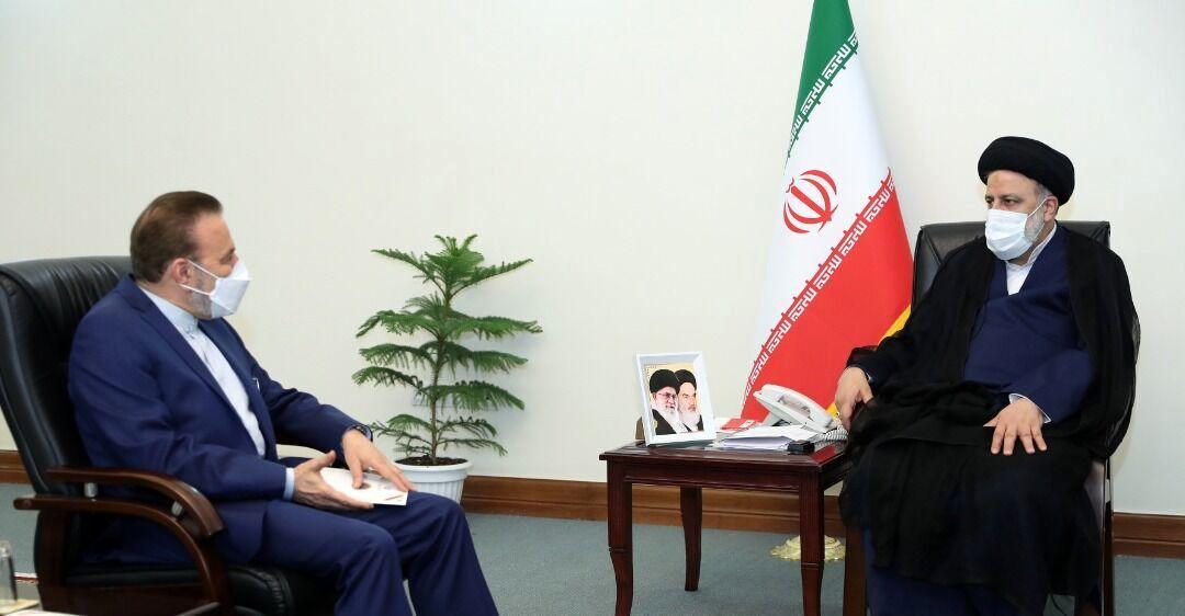 رییس دفتر رییسجمهوری با رییسی دیدار کرد