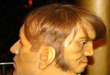 شیطانی بودن یکی از چهرهای مرد 2 سر!+عکس