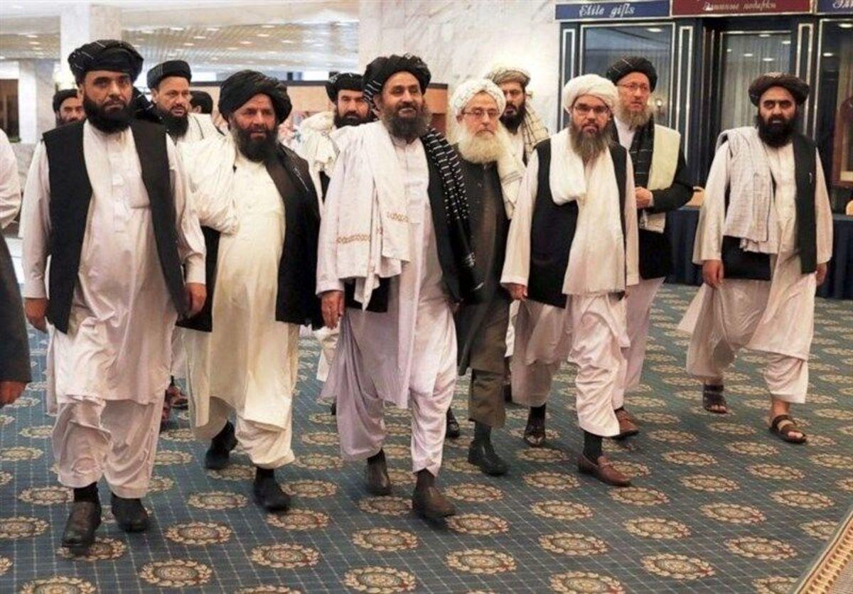 پرچم طالبان در این مکان جا خوش کرد+ عکس