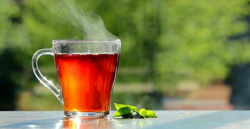 خواص شگفت انگیز نوشیدن چای داغ در تابستان