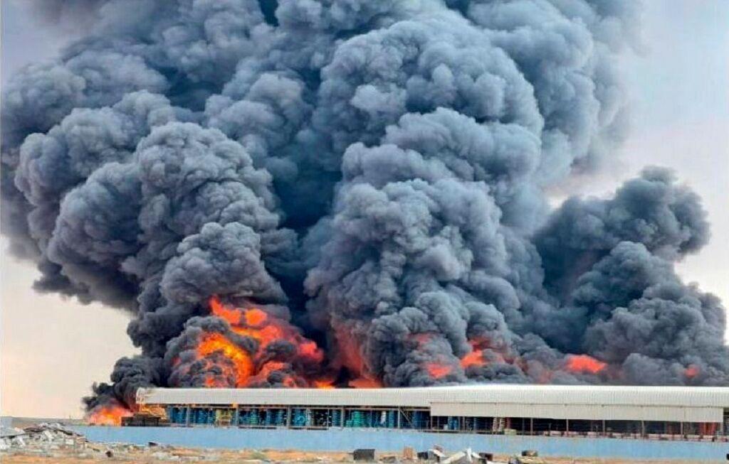 امارات غرق در آتش!+ جزییات