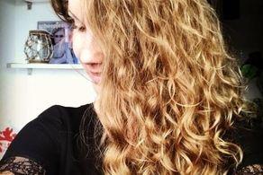 فرمول جادویی این زن برای نجات موهایش! + عکس