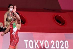 طلسم کشتی ایران در توکیو شکست/برنز وزن 97 کیلوگرم به ساروی رسید